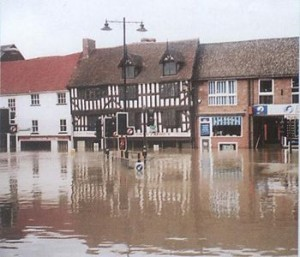 Flooding impacts a building's durability