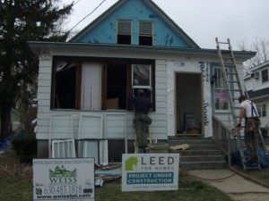From Foreclosure to LEED - Before